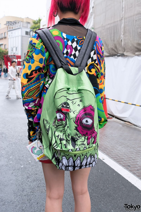 Iron Fist Zombie Backpack