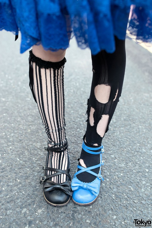 Ripped Tights & Angelic Pretty Shoes