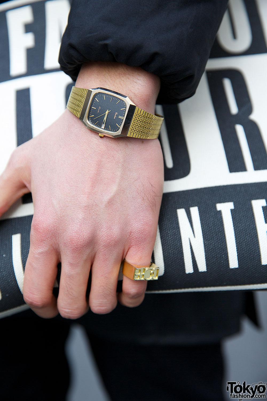 Black Fashion Rings