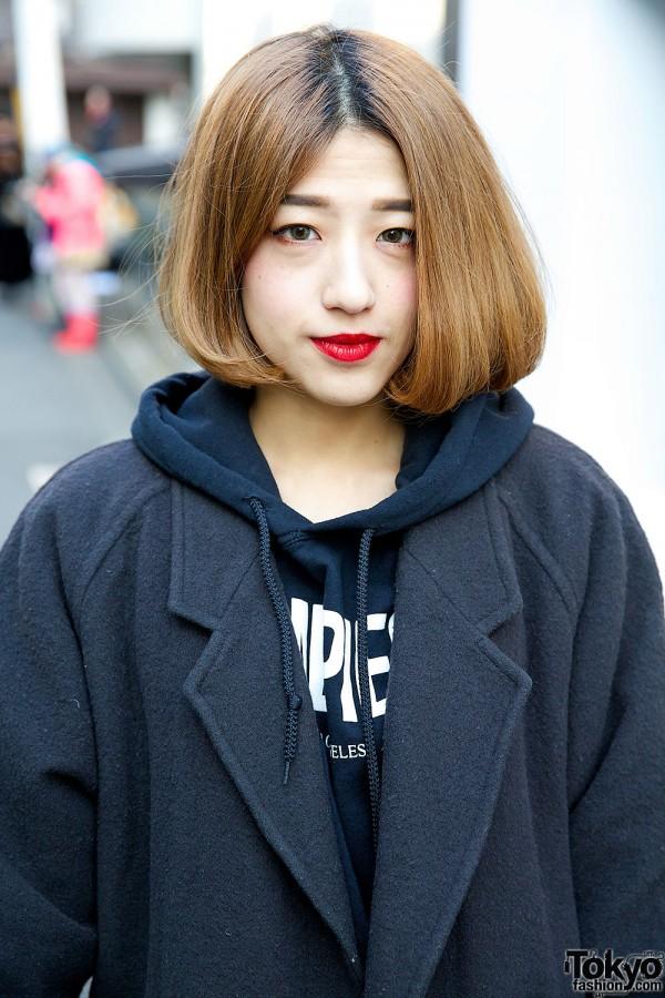 Red Lips & Resale Coat