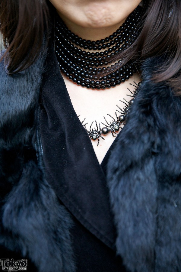 Choker & Spiders Necklace