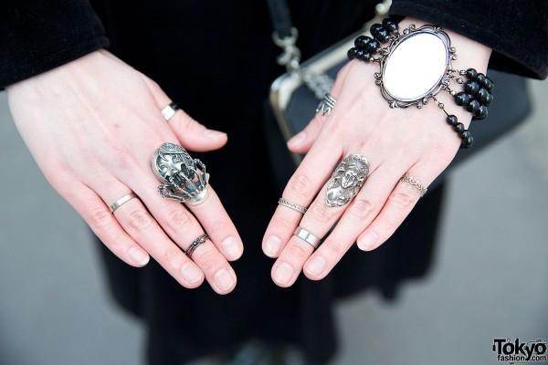 Gothic Rings & Bracelets