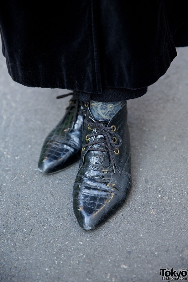 Vintage Lace-up Shoes