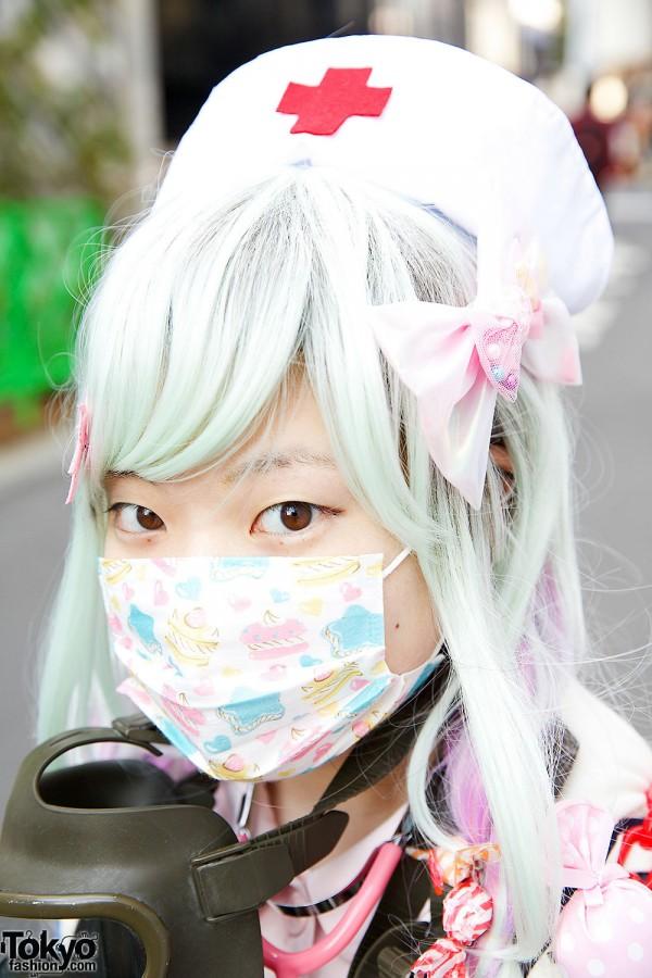 Pastel Hair & Face Mask