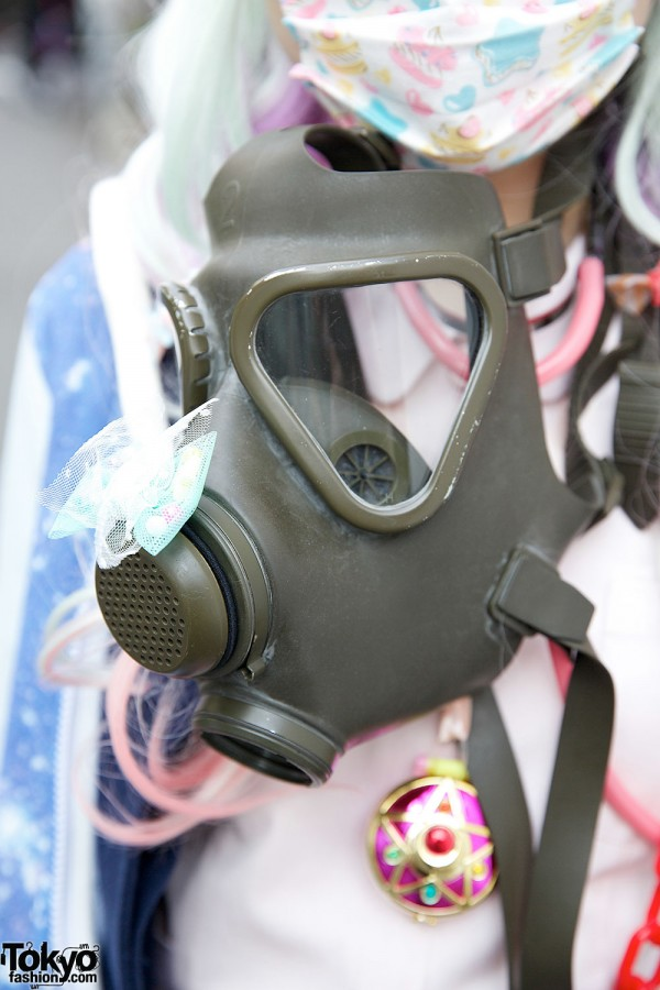 Gas Mask Fashion
