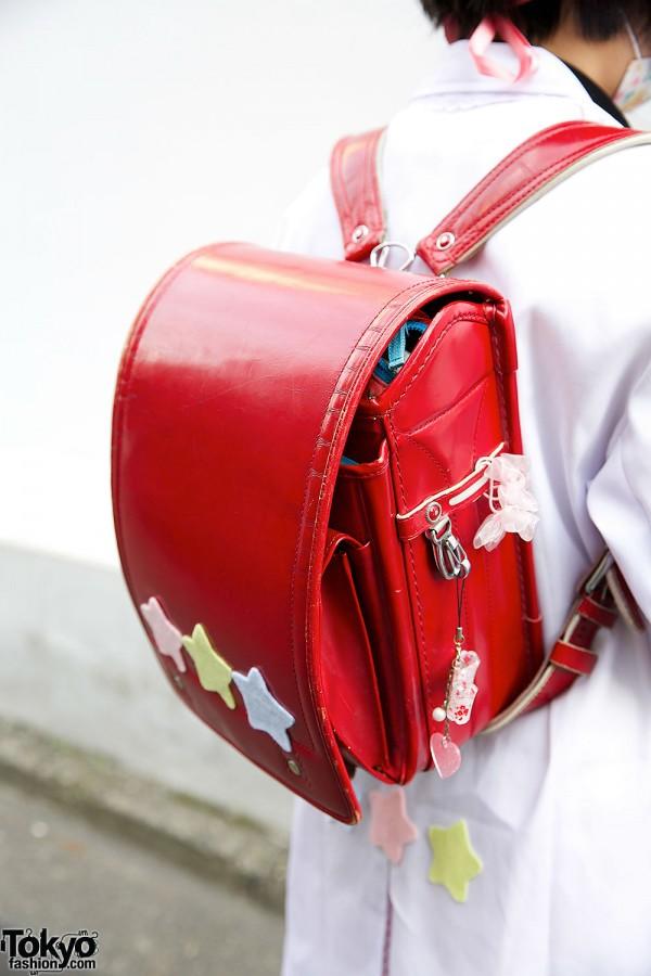 Red Randoseru Backpack
