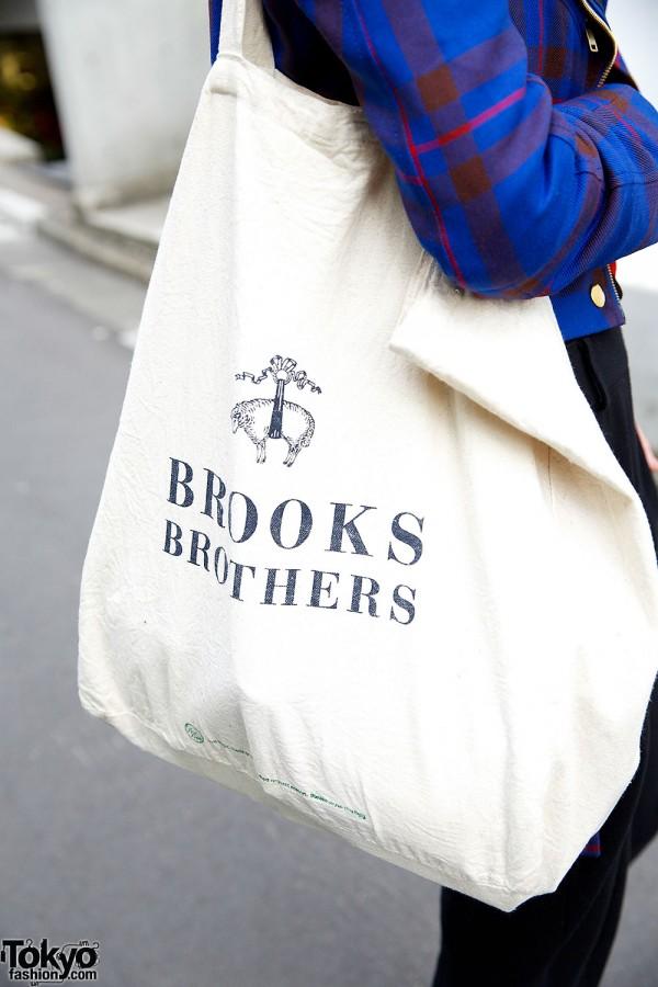 Brooks Brothers Tote Bag