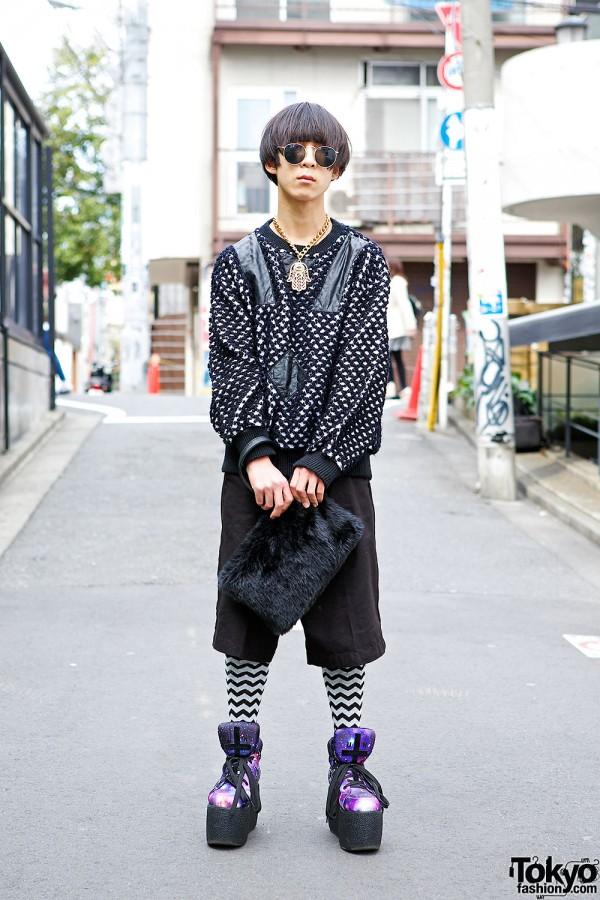 WEGO shorts & resale sweater