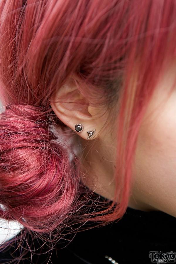 Stud Earrings & Red Earrings