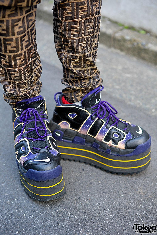 fashion buyer in harajuku w platform nike coogi amp fendi