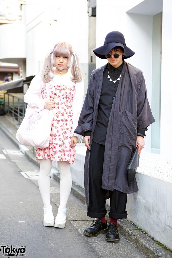Pastel Twin Tails, Nile Perch & Kinji vs Christian Dior & Dr. Martens in Harajuku
