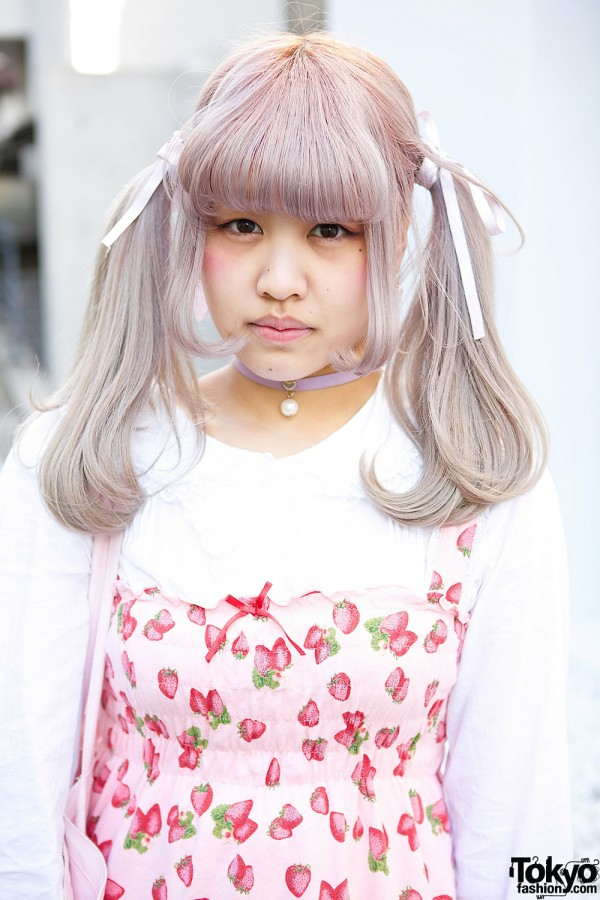 Pastel Twin Tails Hairstyle