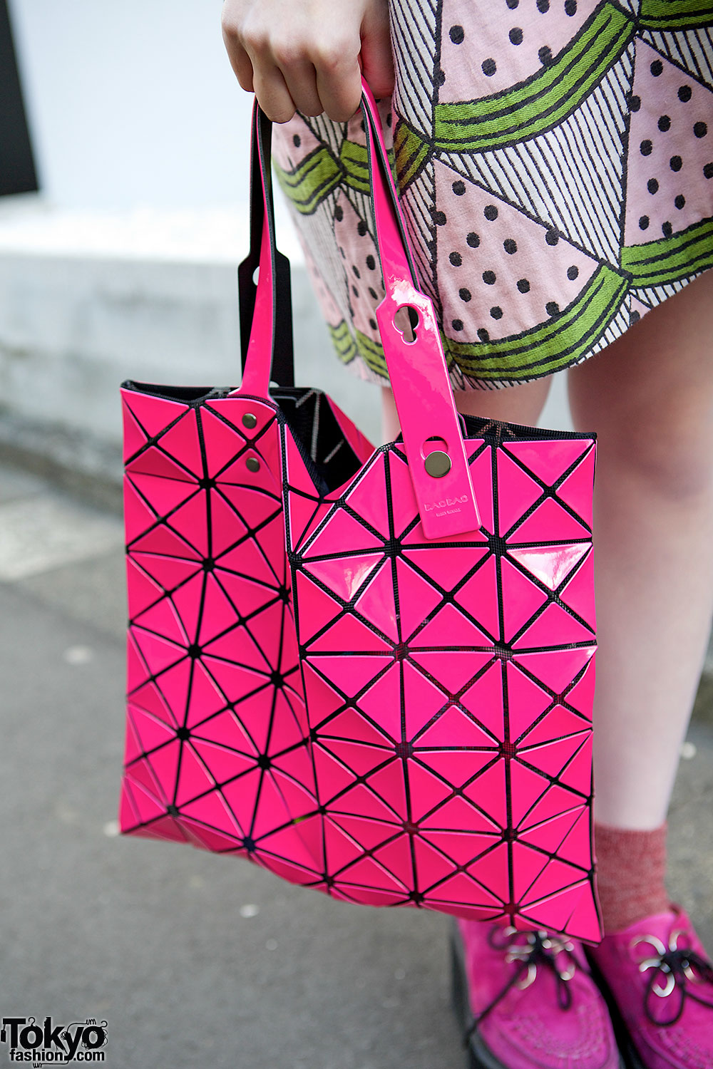 I Am I Watermelon Dress Amp Issey Miyake Bao Bao Bag In Harajuku