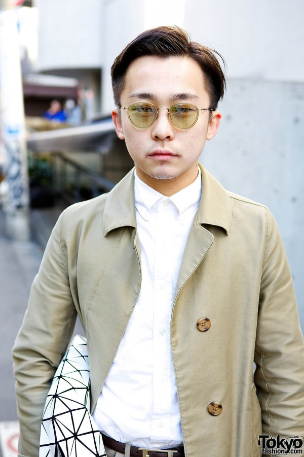 Resale Trench & Shirt