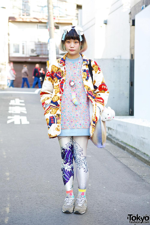 Kinji Jacket & The Circus Harajuku Leggings