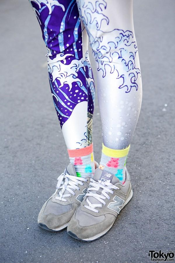 New Balance Sneakers in Harajuku