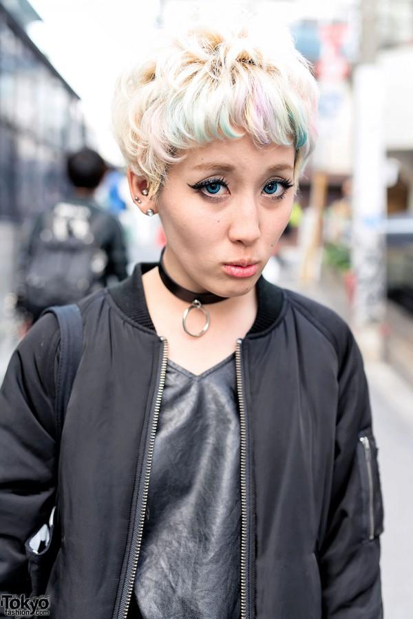 Emoda Bomber Jacket in Harajuku
