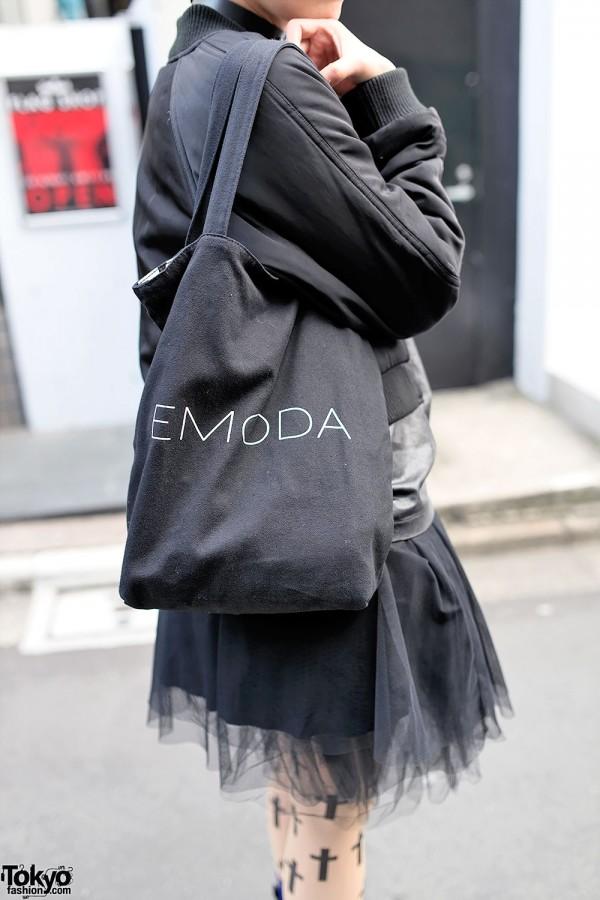 Emoda Tulle Skirt & Tote Bag