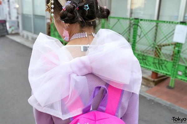 Giant Bow Dress in Harajuku