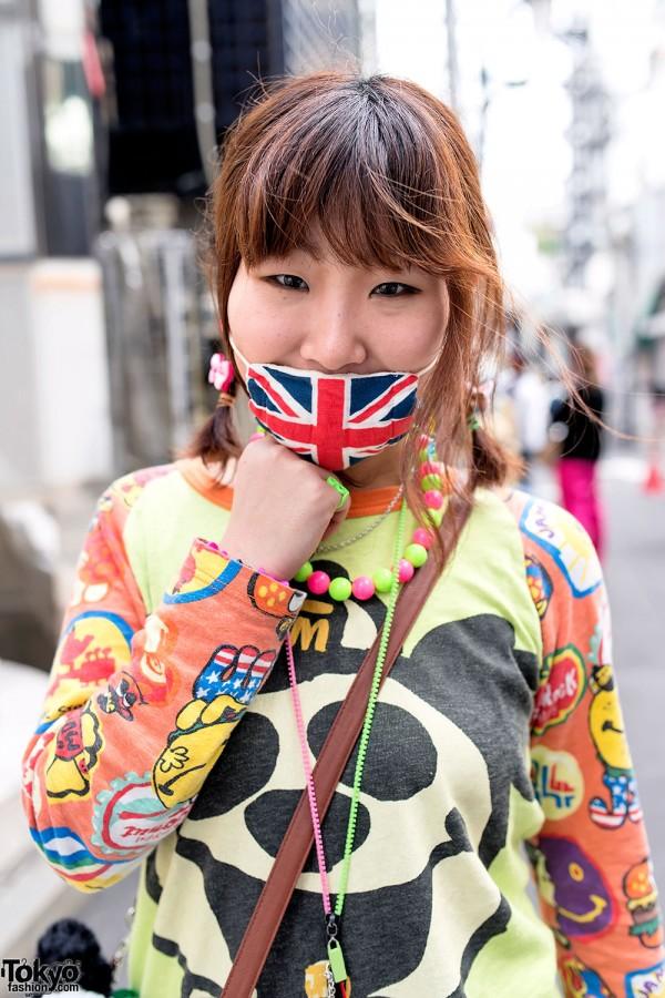 Colorful Style in Harajuku