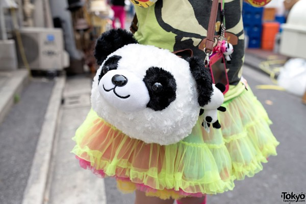 Panda Purse & Tulle Skirt