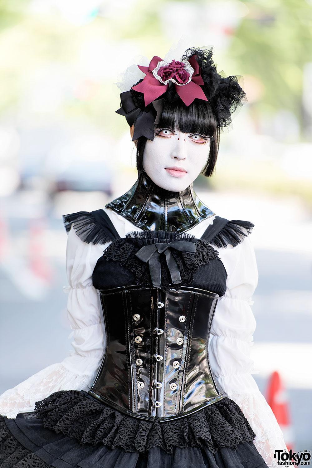 Harajuku Shironuri In Gothic Fashion Corset Amp Ball Joint