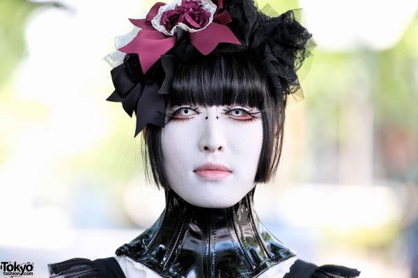 Beautiful Shironuri Makeup