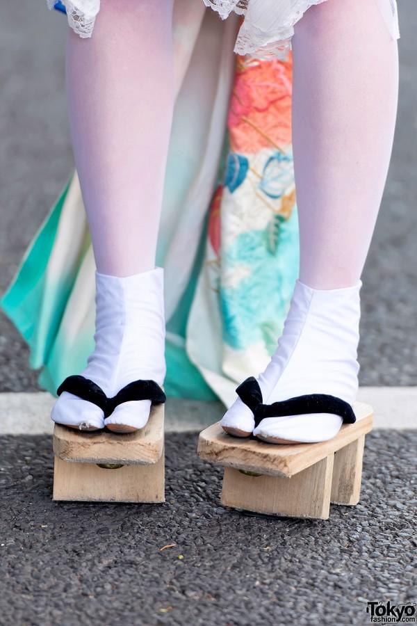 Geta Sandals in Harajuku