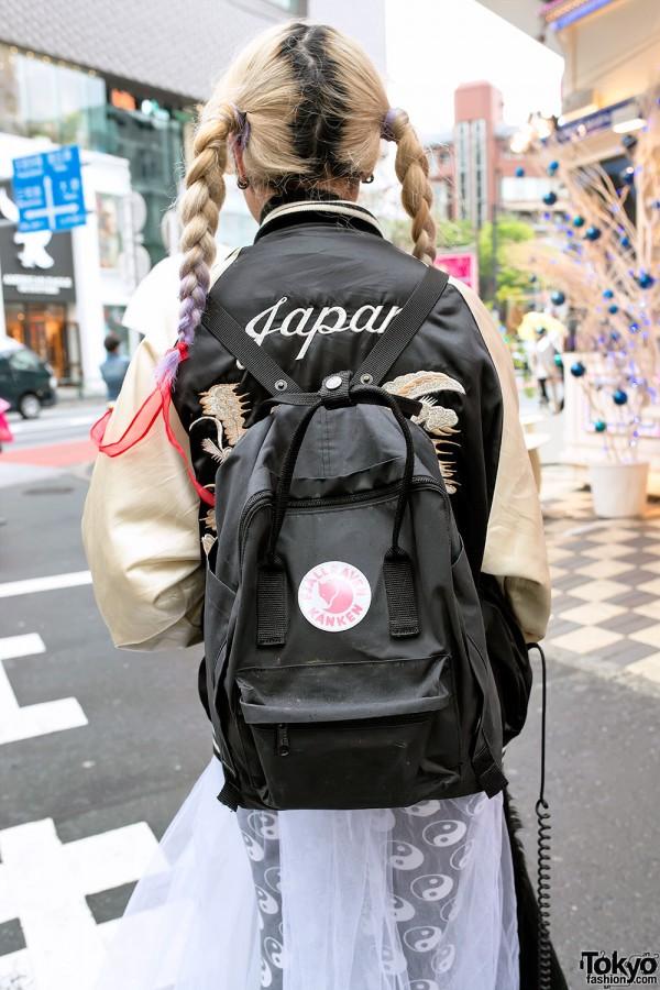 Fjallraven Kanken Backpack in Harajuku