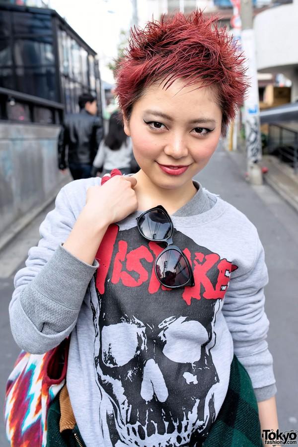 Japanese Model Kaoru in Harajuku