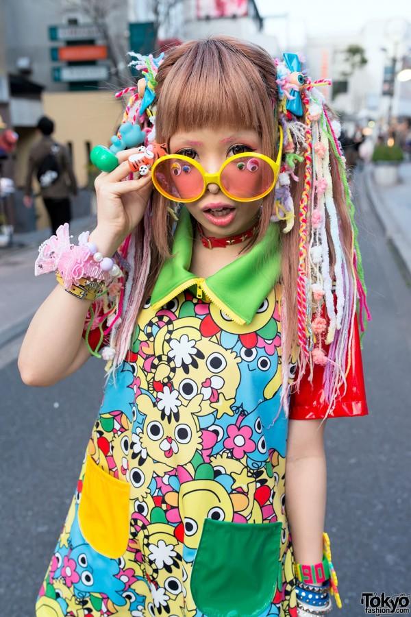 Haruka Kurebayashi Wearing 90884 in Harajuku