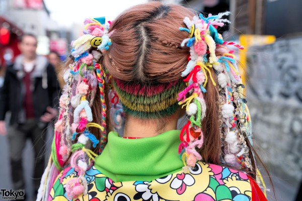Haruka Kurebayashi's Kawaii Hairstyle