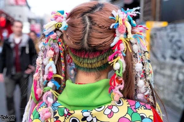 Haruka Kurebayashi S Kawaii Hairstyle Tokyo Fashion News