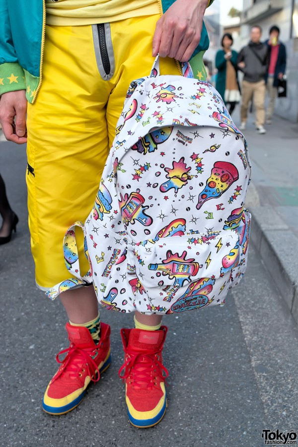 Colorful Dress 'N Dazzle Backpack