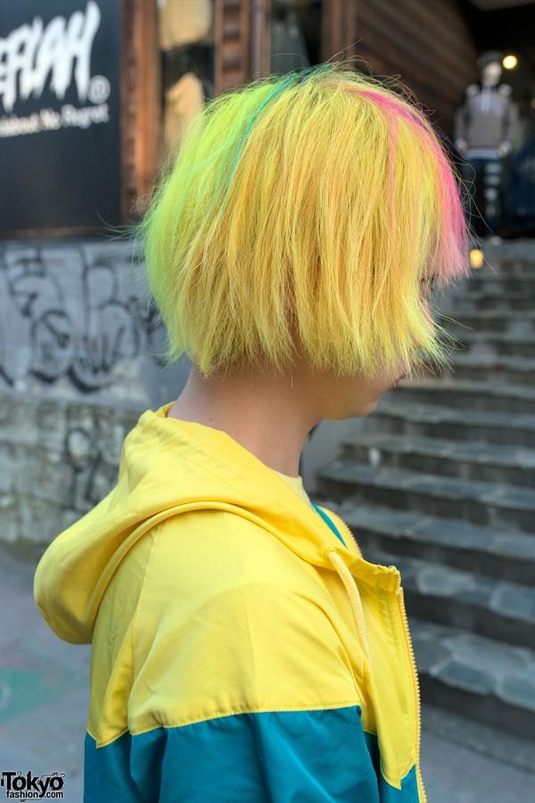 Yellow Hair in Harajuku