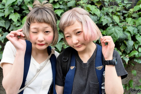 Nari & Naru's Cute Short Hairstyles