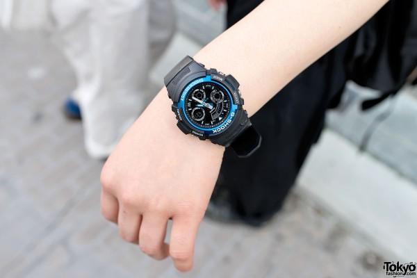 Black Casio G-Shock Watch