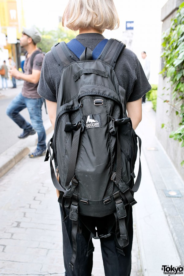 Gregory Backpack in Harajuku