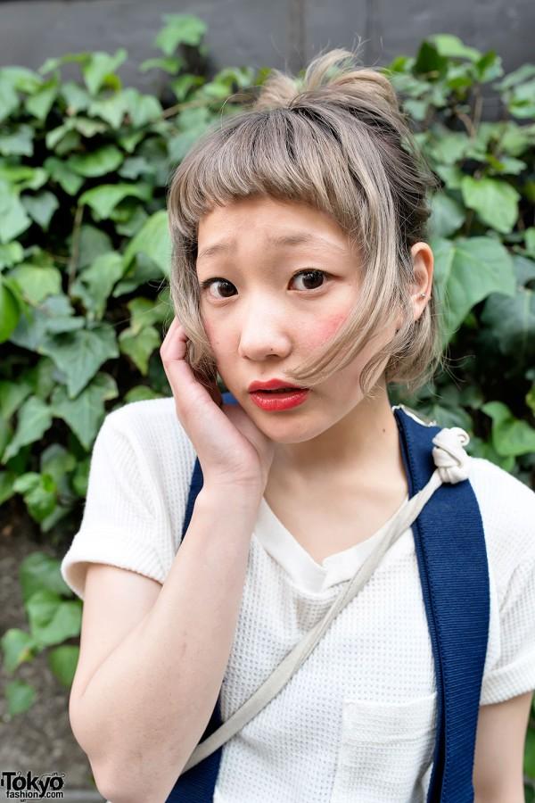 Nari's Cute Hairstyle in Harajuku