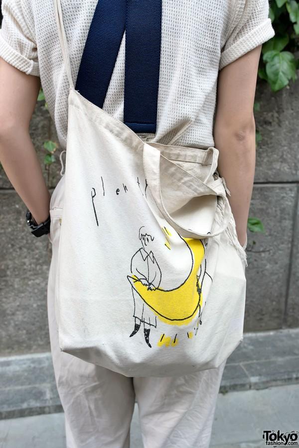 Graphic Tote Bag in Harajuku