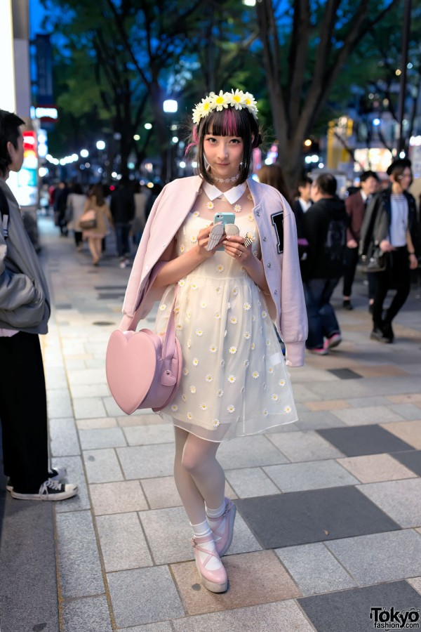 RinRin Doll Wearing LilLilly in Harajuku