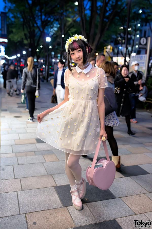 RinRin Doll on the Street in Harajuku