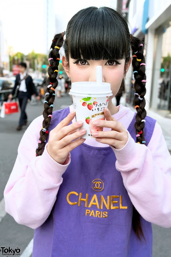 Strawberry Milk & Street Fashion in Harajuku