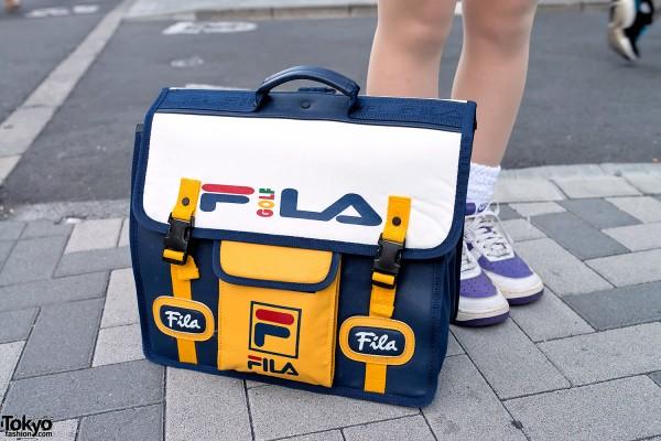 Large Fila Logo Bag