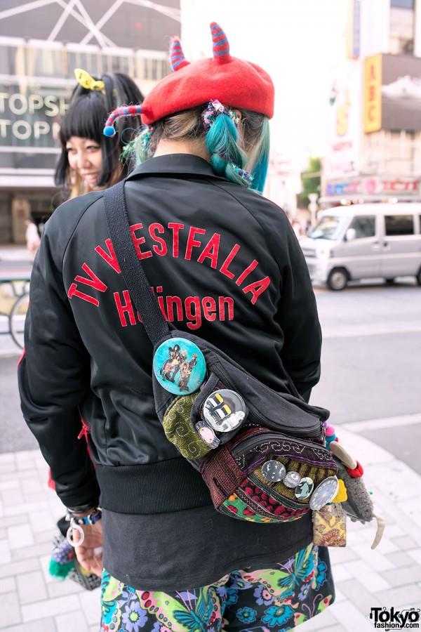 Jammin Bag & Adidas Jacket