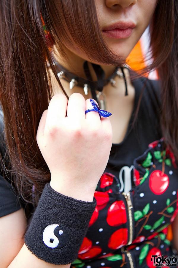 Butterfly Ring & Yin Yang Bracelet