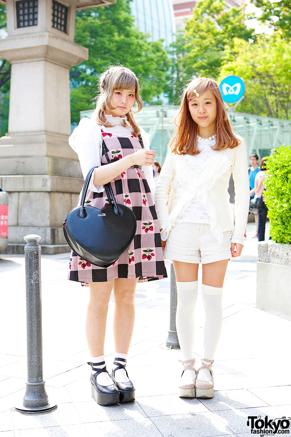 Harajuku Girls in Rocking Horse Shoes