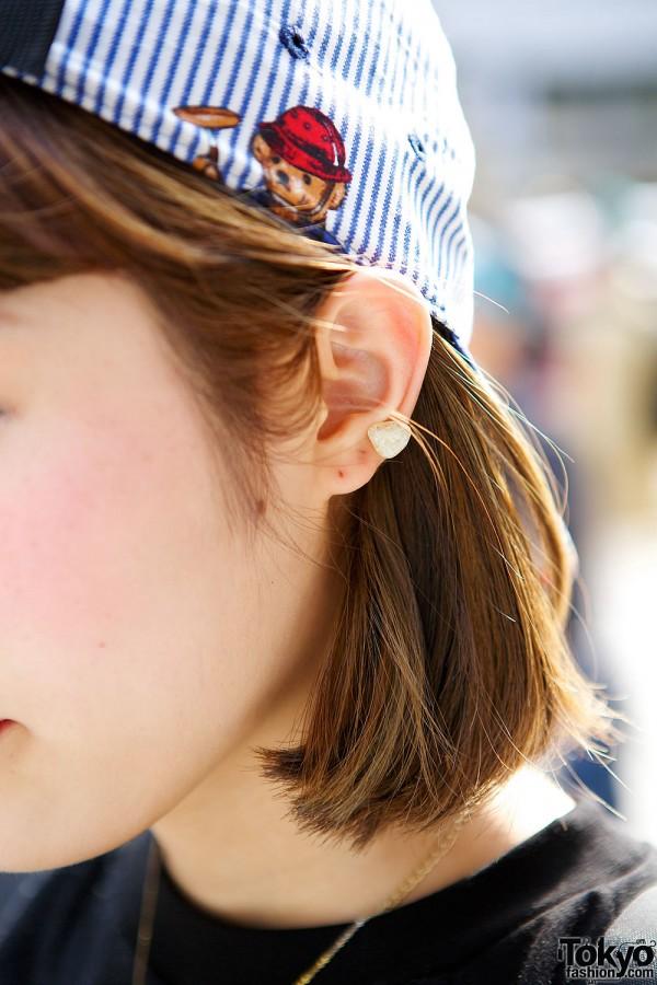 Rock Stud Earrings