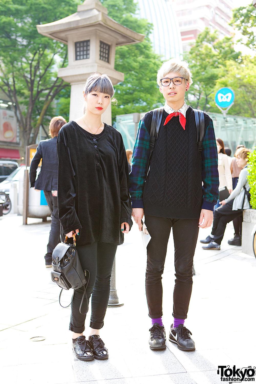 Harajuku Beauticians in Black
