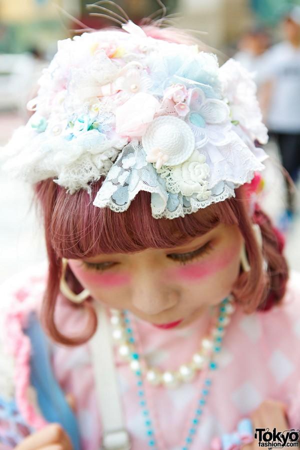 Lace & Beads Head Piece